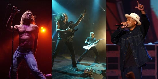 The Stooges, Metallica in the Running for Rock Hall of Fame