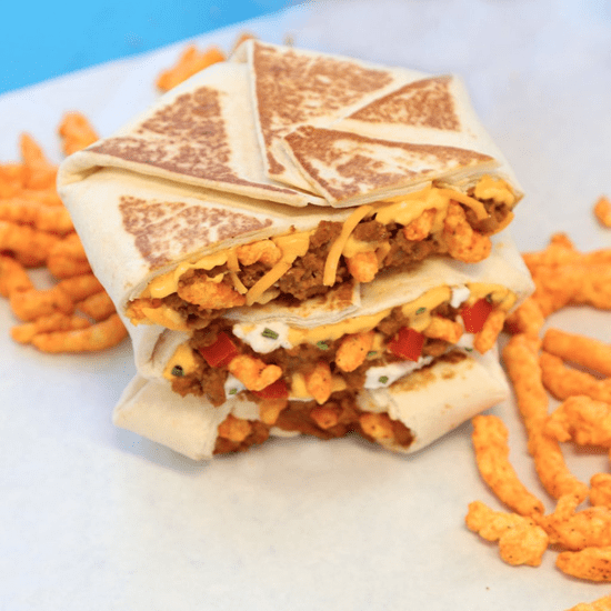 New Cheetos Crunchwrap From Taco Bell