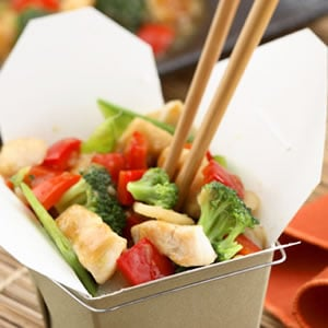 Fast & Easy Dinner: Sweet and Sour Chicken