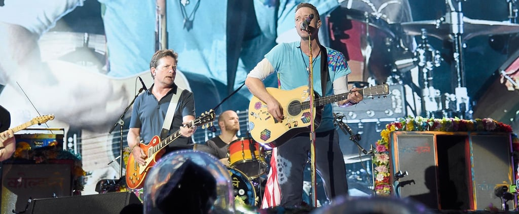 Michael J. Fox Re-Creates a Memorable Scene From Back to the Future With the Help of Coldplay