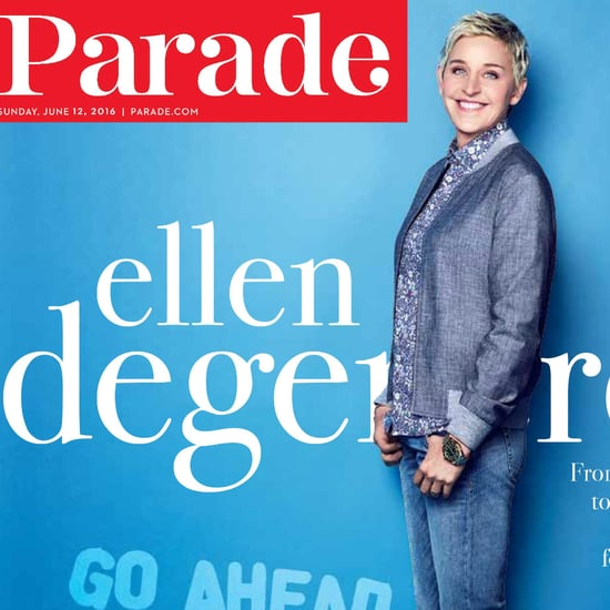 Ellen DeGeneres Parade Interview June 2016