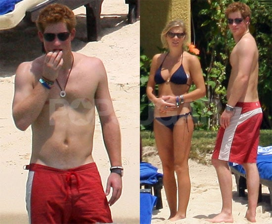 Photos of Prince Harry and Girlfriend Chelsy Davy In Mauritius