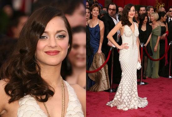 Oscars Red Carpet: Marion Cotillard