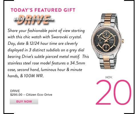 DRIVE from Citizen-Eco Drive
