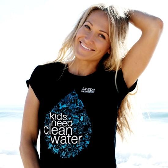 Erika Heynatz Talks About Being Aveda's Walk For Water Ambassador