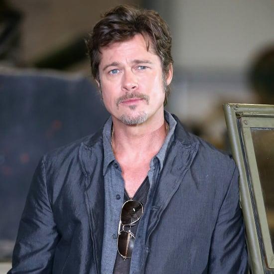 WWII Vet Didn't Know Brad Pitt Before Fury Movie | Video