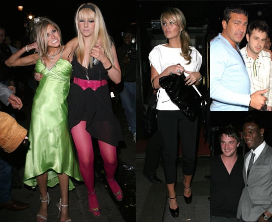 Nikki Grahame's 26th Brithday Party at Embassy in London