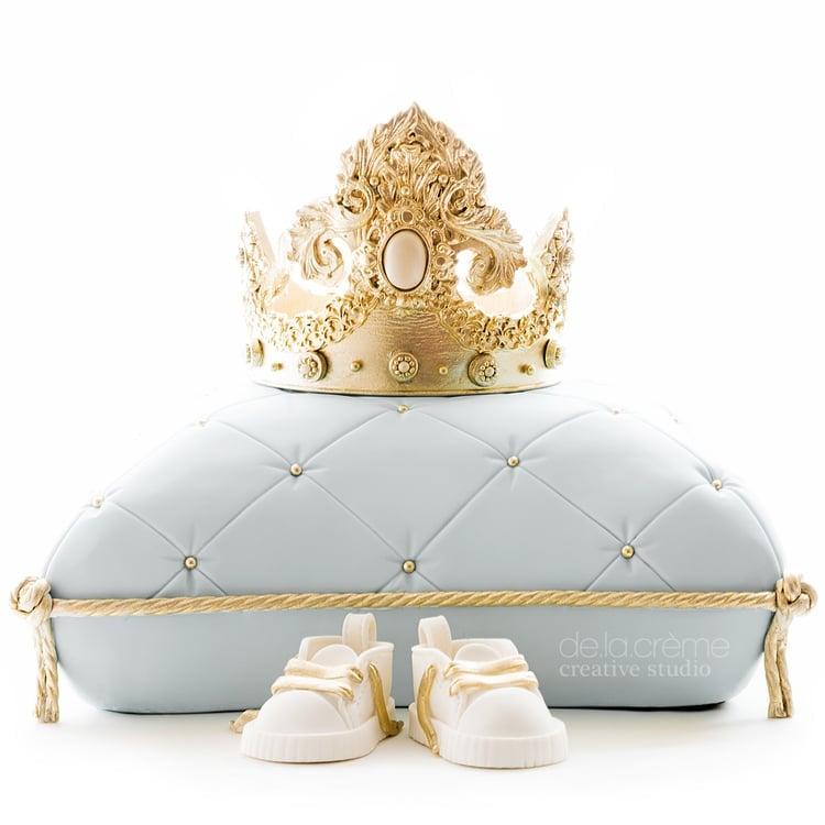 Royal Prince Baby Shower Cake | POPSUGAR Moms