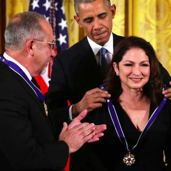 Gloria and Emilio Estefan Receive US Medal of Freedom