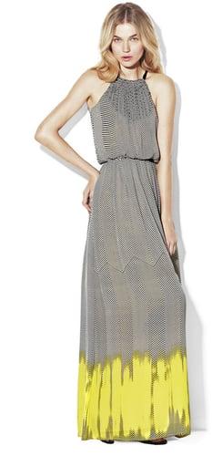 Back Tie Halter Maxi Dress