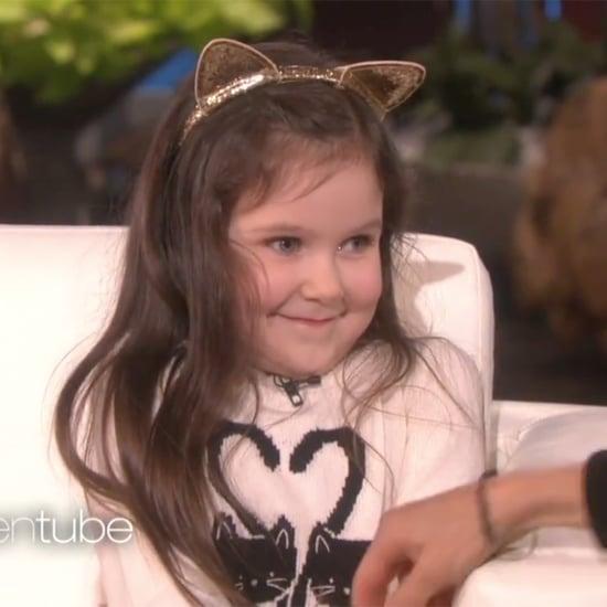 Ellen DeGeneres Interviews Young Cancer Survivor Violet