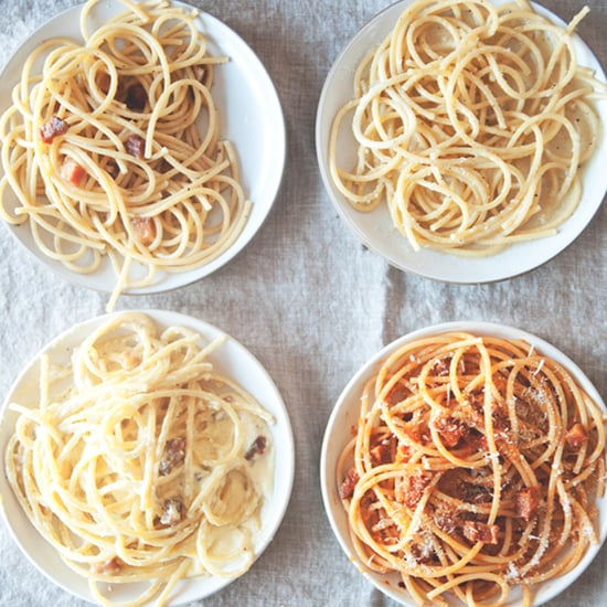 The Four Pastas of Rome