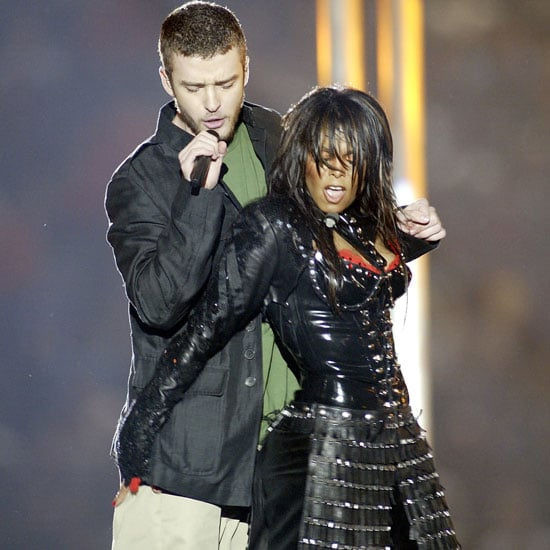 Janet Jackson and Justin Timberlake performed in February 2004 during the Super Bowl half-time show in Houston, TX.
