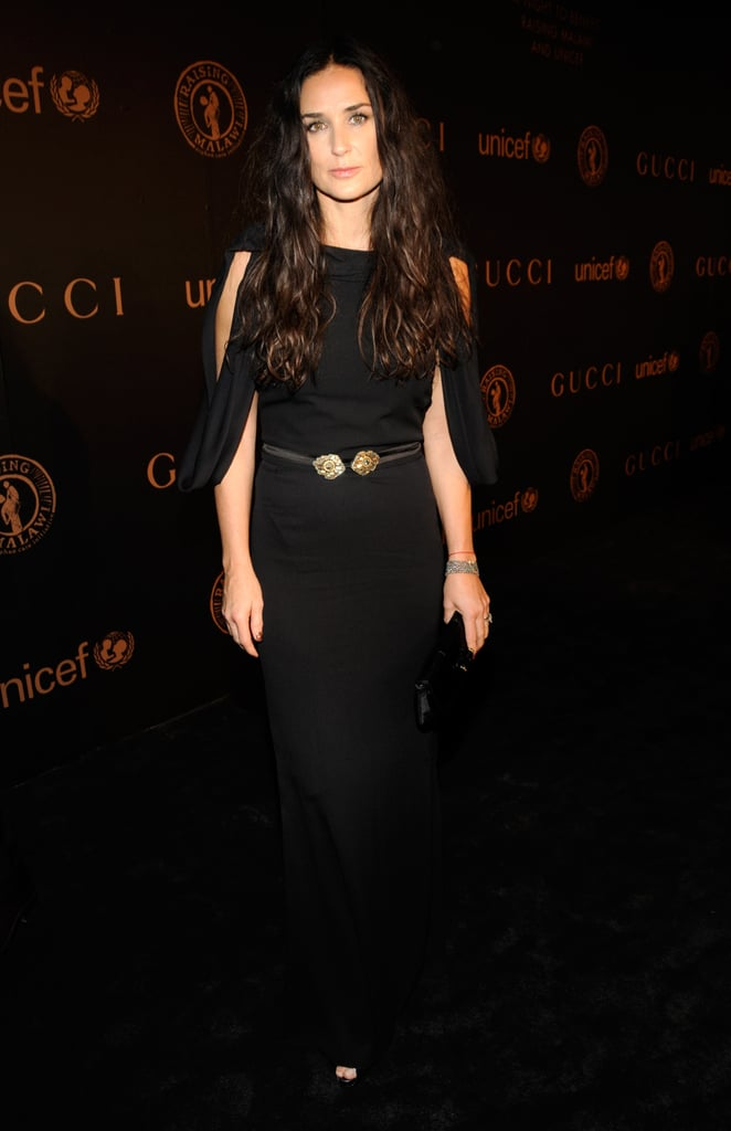 Super sleek and sexy at a Gucci charity event in 2008.