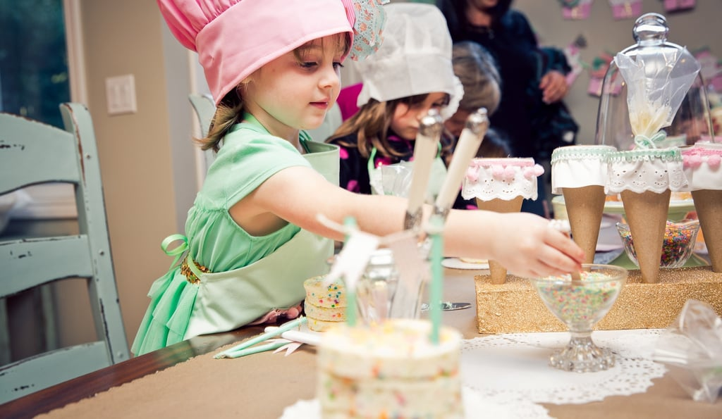 Young Bakers at Work