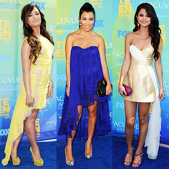 Teen Choice Awards Dresses Trend 2011-08-07 19:20:10