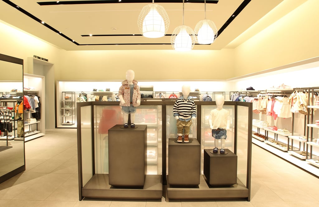 Mini-me style can be found in the Childrens section on the ground floor.