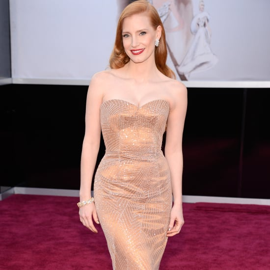 Jessica Chastain Oscar Dress 2013 | Pictures