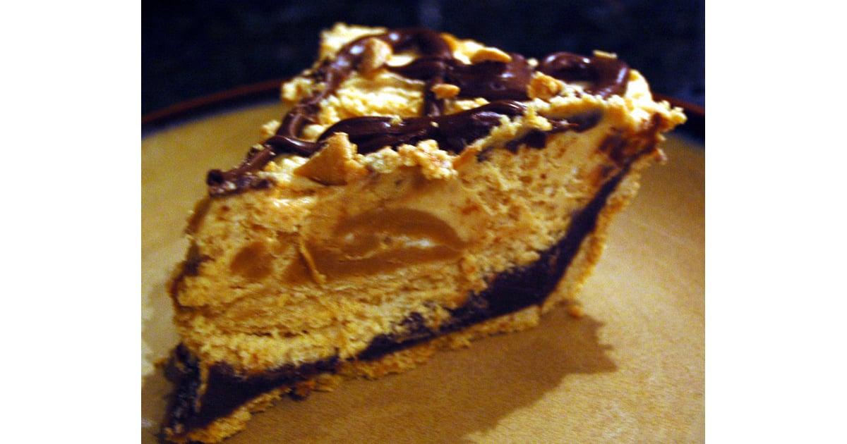 Black Bottom Peanut Butter Mousse Pie   POPSUGAR Celebrity