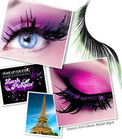 Make Up For Ever Lash Contest