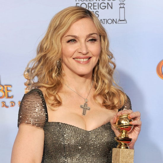 Madonna Golden Globes Press Room Quotes