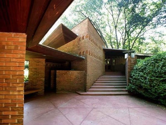 On the Market: Frank Lloyd Wright's Palmer House