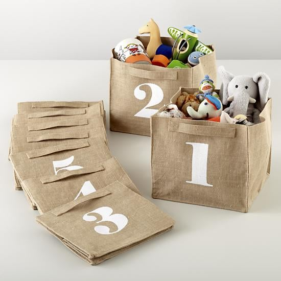 The Land of Nod Store by Numbers Cube Bins