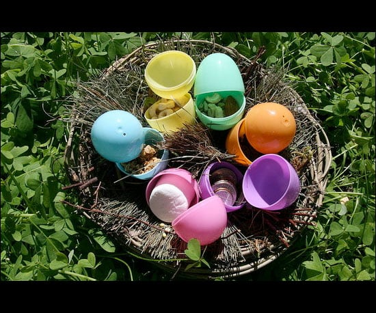 Fill Easter Eggs With Healthy Treats
