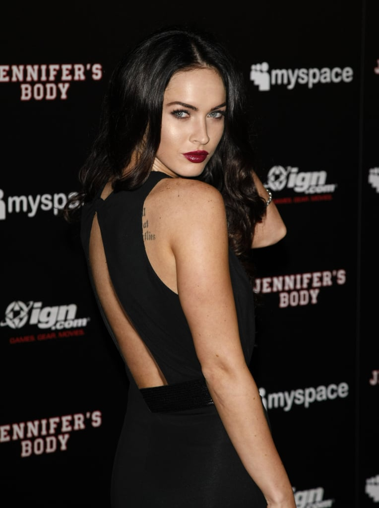 Megan Fox played the vamp at the Comic-Con party for Jennifer's Body in 2009.