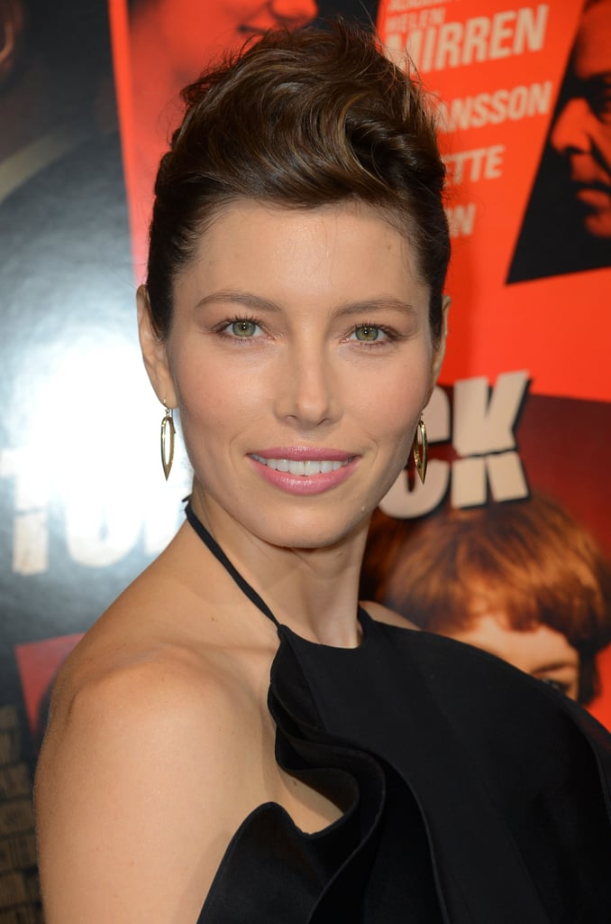 Jessica Biel Brings Hitchcock West With Helen and Toni
