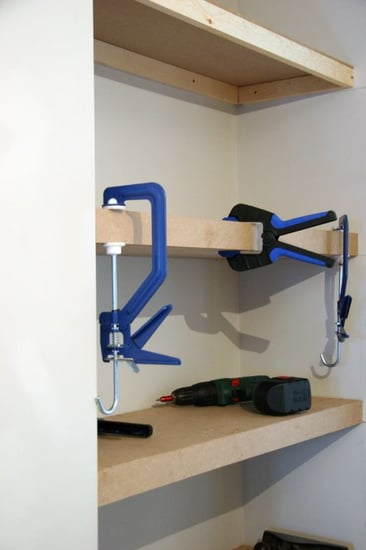 Before and After:  From Awkward Corners to Splendid Shelves