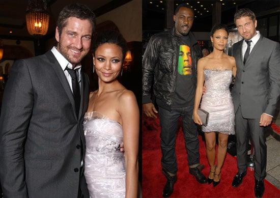 Photos of Thandie Newton, Gerard Butler, and Idris Elba at the LA Premiere of RocknRolla