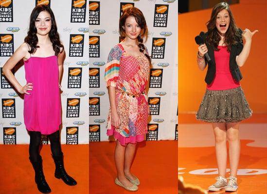2008 Nickelodeon UK KCAs: Best Dressed Tween?