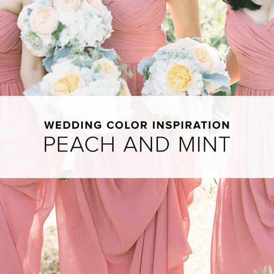Peach and Mint Wedding Theme | Shopping
