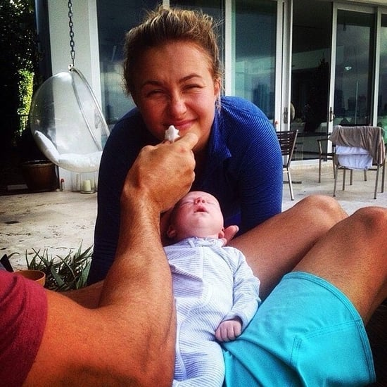 Hayden Panettiere With Daughter Kaya Klitschko | Picture