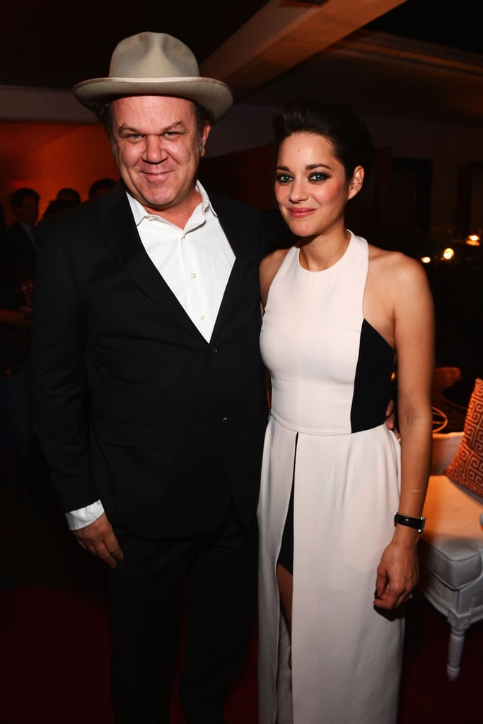 Marion Cotillard and John C. Reilly got together for a photo.