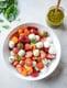 With Strawberries and Pistachio Pesto