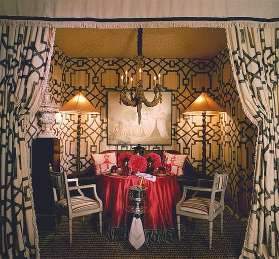 Midday Muse: A Tented Room