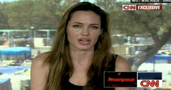CNN Asks Angelina Jolie About Adopting From Haiti — Natural Question or Really Off Topic?
