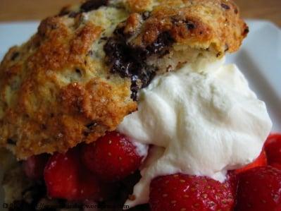 Yummy Link: Strawberry Chocolate Chunk Shortcakes