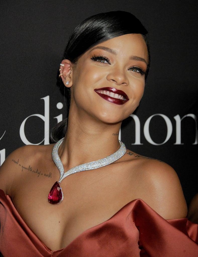 Celebrities Brad Pitt ... Rihanna Diamonds