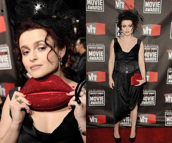 Helena Bonham Carter at 2011 Critics' Choice Awards 2011-01-14 18:08:24