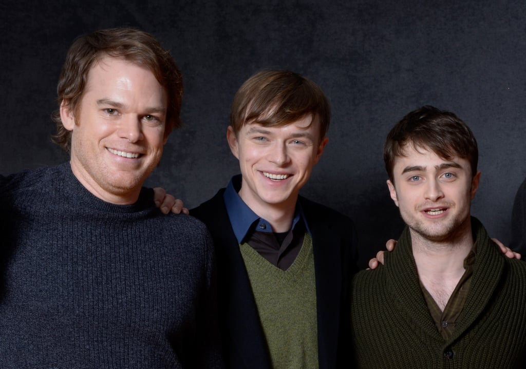 Michael C. Hall, Dane DeHaan and Daniel Radcliffe — the gentlemen of Kill Your Darlings — represented the film at Sundance.