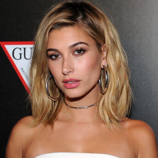 Hailey Baldwin David Koma Dress at VMAs Afterparty