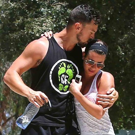Lea Michele and Matthew Paetz Show PDA on Hike