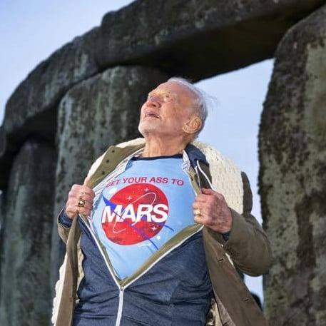 Buzz Aldrin on Mars Exploration
