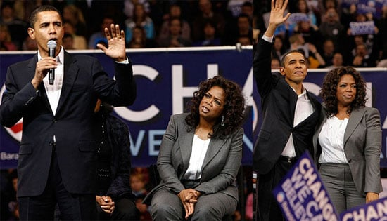 Oprah Hits The Campaign Trail To Support Obama