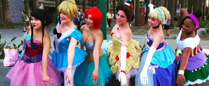 37 Creative Disney Princess Group Costumes
