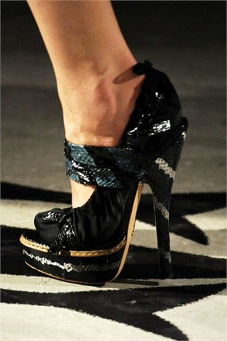 Who's Up for Eight-Inch High Heels?