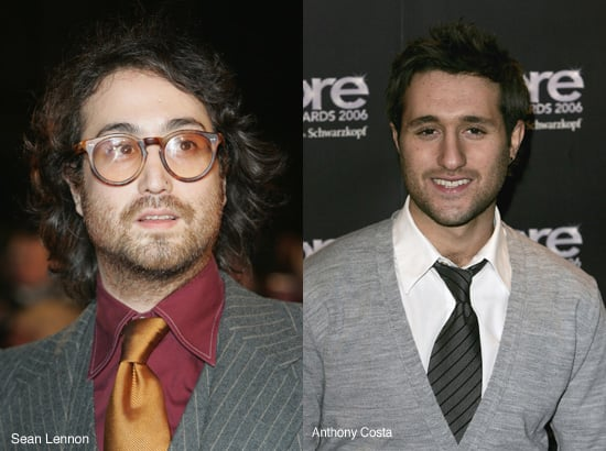 Celebrity Lookalikes: Sean Lennon and Anthony Costa?